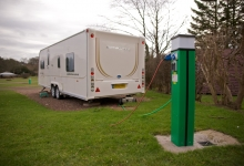 Caravan Berth at Mortonhall