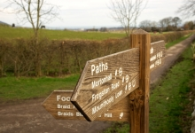 Good, sign-posted paths for riding