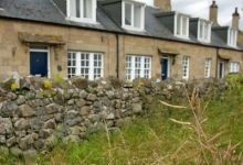 Farmhouses and cottages for rent in the Scottish Borders