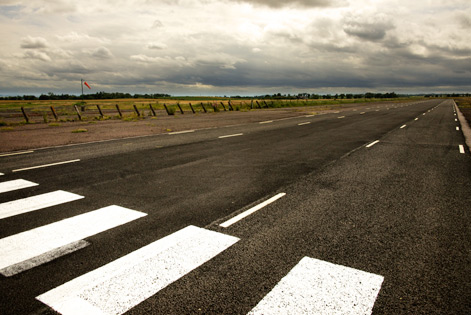 Airfield Scottish borders