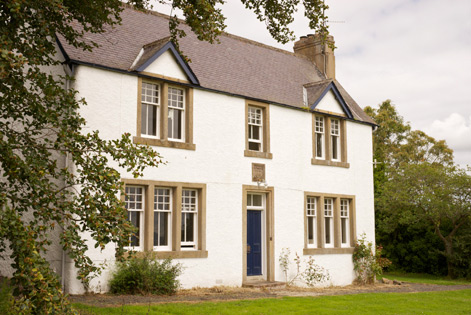 Farmhouse to rent Scottish borders