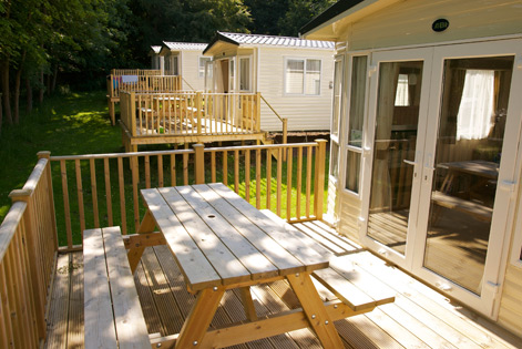 Award winning holiday homes near Edinburgh