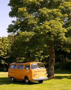 Camping and caravan holiday Edinburgh