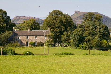 Rural properties near Edinburgh