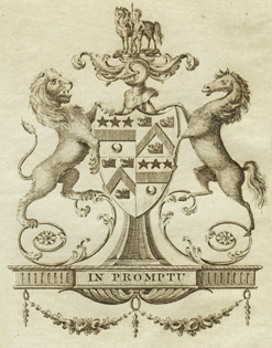 Trotter of Mortonhall family crest